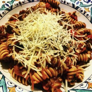 Eggplant Pepper Ragu Vegetarian Pasta Recipes