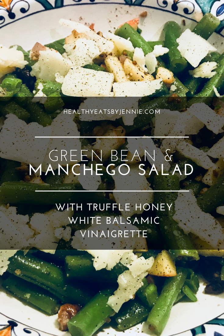 Green Bean Manchego Salad