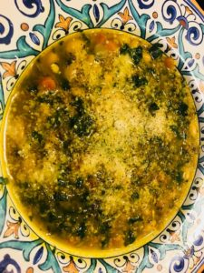 One Pot - Quinoa White Bean and Greens Soup – Vegetarian Recipes