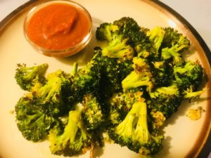 Roasted Broccoli with Spicy Thai Peanut Dipping Sauce – Broccoli Recipes