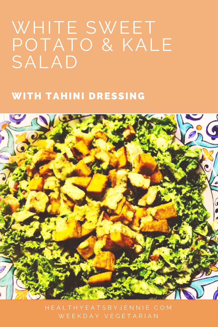 Sweet Potato and Kale Salad