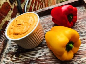 Roasted Summer Squash Pepper Dip – Roasted Veggie Dip Recipe | Healthy Eats by Jennie